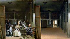Las Meninas - Diego Velázquez 1656 | What Happens When You Remove the People from Classic Paintings?