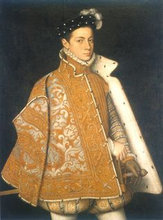 1560 Farnese. Cape with sleeves