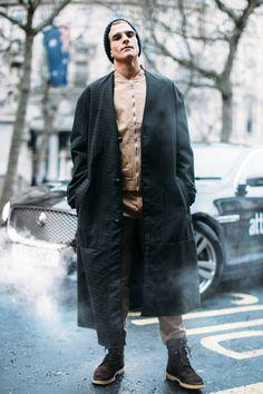 London Men's Street Style Fall 2017 | Day 3