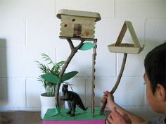 1000 images about popsicles stick on pinterest popsicle for How to build a treehouse with sticks