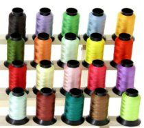 Each Spool has 550 Yards and is 40 weight Polyester. You get 20 different Colors. This auction is for 20 Large Spools of Polyester Embroidery Machine Thread. Embroidery Hearts, Embroidery Flowers Pattern, Embroidery Monogram, Embroidery Patterns Free, Sewing Appliques, Hand Embroidery Designs, Etsy Embroidery, Machine Embroidery Thread, Machine Embroidery Projects