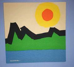 Vintage Modern Robert 'Bob' Van Allen Stretched Canvas | eBay