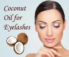 how to clean false eyelashes with coconut oil