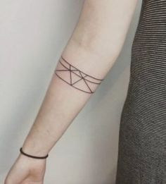 Geometric Armband by Sophie Lee