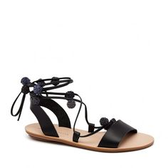 Saskia Ankle Wrap Sandal