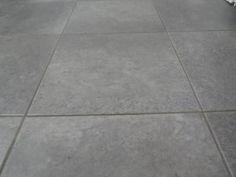 TrafficMASTER Ceramica 12 in. x 12 in. Coastal Grey Resilient Vinyl Tile Flooring (30 sq. ft. / case)-27116C - The Home Depot