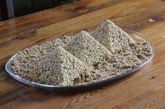 The Pyramids of Giza...A Fun Rice Crispy Treat!