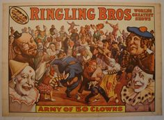 Army of 50 Clowns - Ringling Bros.