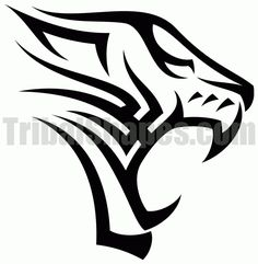 Free tribal tattoo design for 'Tiger Find more Animals tattoos on this category full of tribal designs! Tigre Tribal, 4 Tattoo, Lion Tattoo, Body Art Tattoos, Tribal Tiger Tattoo, Tribal Tattoos, Tribal Lion, Free Tattoo Designs, Tribal Tattoo Designs