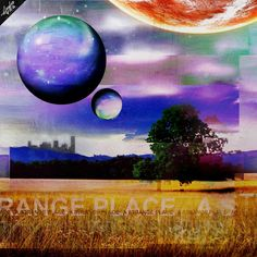 """""""A Strange Place"""" Andray Guion Digital 2016"""