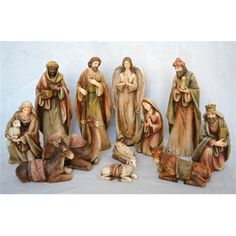 Enter into the joyful spirit of Christmas with this Wood Grain Texture Nativity Set! This gorgeous Nativity is sure to become a beloved tradition in your home and a treasured family keepsake. Wood Grain Texture, Christmas Trends, Catholic Gifts, Christmas Nativity, Worship, Christmas Decorations, Nativity Scenes, Christian, Free Shipping