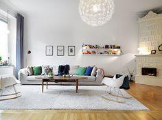 Stadshem - scandinavian living room
