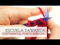 Aprende a tejer con DaWanda - Continental Punto Derecho