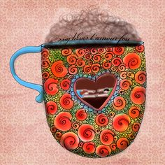 Crazy love. Swimming in the glow of coffee love. Don't get burned. Wild, swirls of hot light and desire. Swimming in coffee love. Care to splash around? What my #coffee says to me April 9th.