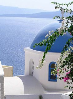 So serene looking. Santorini? Will let you know after trip in June!!