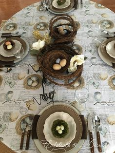 I Invited Birds to Nest at the Table - Celebrate & Decorate