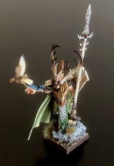 Warhammer Wood Elves, Wood Elf, Minis, Elves