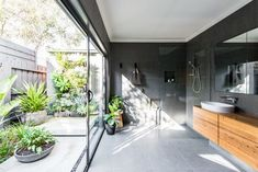 Create an Industrial Style Bathroom Using Elegance Tiles - Elegance Tiles Indoor Outdoor Bathroom, Outdoor Baths, Beautiful Bathrooms, Modern Bathroom, Tiny Bathrooms, Design Bathroom, Bathroom Ideas, Pool Bathroom, Bathroom Stuff