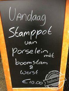 Met een lekkere bite. #taalvout  (Met dank aan Maarten Nederstigt!)
