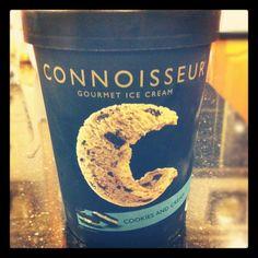 Connoisseur cookies & cream.