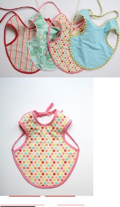 """The Bapron! aka the """"baby apron"""" would be a great homemade present for a shower, maybe monogram?"""