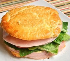 CLOUD BREAD - O Pão das Nuvens - Para Lanche, Salgado, Pizza ou Doce http://receitarapida24h.blogspot.com.br/2016/04/cloud-bread-o-pao-das-nuvens-para.html