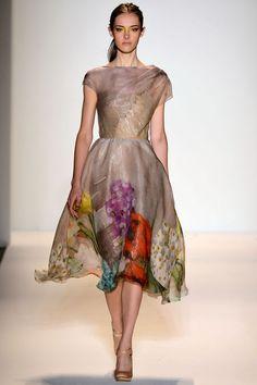 Pretty! Lela Rose SS2013