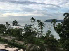Marine Path to the Panama Canal on the Pacific side, seen from Hotel Carlson Inn Country Inn Amador