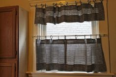 kitchen curtains and valances patterns