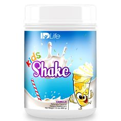 Kids Shake is specifically developed to be the kid-friendly version of our original Shake for the youngest members of our family. This product is sweetened only with all natural stevia and boasts 12 grams of cold-filtered whey protein from hormone-free grass fed cows and micro-milled chia seeds that delivers a great tasting and nutritious alternative that both parents and kids will love.   fitnclean.idlife.com