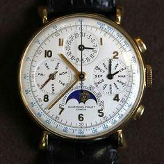 audemars piguet at the sihh Antique Watches, Vintage Watches For Men, Luxury Watches For Men, Dream Watches, Cool Watches, Wrist Watches, Men's Watches, Watch Necklace, Bracelet Watch