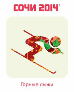 sochi 14', winter olympics Icons - Smooth  shapes, it looks like if thy were happy!