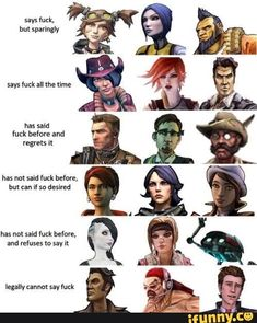 Ooooh, I get why Torgue is where he is on here now Handsome Jack Borderlands, Borderlands Series, Tales From The Borderlands, Video Game Memes, Video Game Art, Video Games, Gamer Humor, Gaming Memes, Old Video
