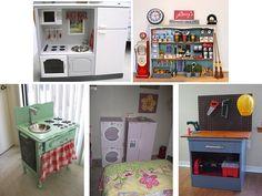 diy repurposed furniture | DIY pretend play ideas | repurposing furniture
