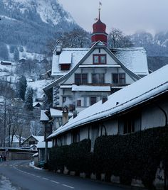 Christmas in the Swiss Alps - beautiful!