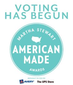 Today is the LAST day to vote for your favorite American Made Audience Choice Award finalist! Vote now!