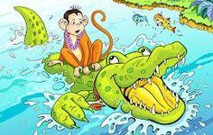 लालच का नाम पतन और पतन का नाम खत्म- बन्दर और एक मगरमच्छ की कहानी | HINDI BABU