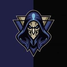 Elder-v Premium Vector Logo Desing, Team Logo Design, Logo Esport, Esports Logo, Professional Logo Design, How To Make Logo, Gaming Wallpapers, Photo Logo, Game Logo