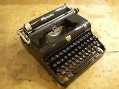 Vintage Typewriter  Olympia 'Elite' Portable  by typewritersetc, £150.00