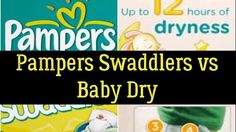 Pampers Swaddlers vs Baby Dry - Which Is The Most Absorbent Diaper? Personal Care, Health, Youtube, Blog, Self Care, Salud, Health Care, Personal Hygiene, Blogging