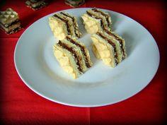 Ciocolata de casa in foi de napolitana Cream Cheese Flan, Strudel, French Toast, Bacon, Bakery, Sweets, Breakfast, Desserts, Recipes