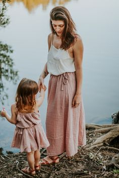 Ava Skirt in Dusty Pink, tutu & Mia Top in Dusty Pink by Numero74