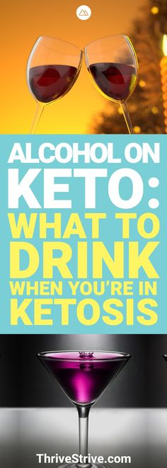 Is it okay to drink alcohol while on the ketogenic diet? If you're trying to stay in ketosis it's okay to drink alcohol on keto as long as you are drinking the right things.