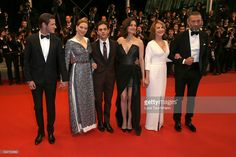 Gaspard Ulliel, Lea Seydoux, Marion Cotillard, Xavier Dolan, Nathalie Baye and Vincent Cassel attend the 'It's Only The End Of The World (Juste La Fin Du Monde)' Premiere during the 69th annual Cannes Film Festival at the Palais des Festivals on May 19, 2016 in Cannes, France.