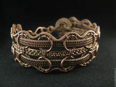 Купить Браслет Михаил - коричневый, браслет мужской, браслет женский, авторские украшения, ручной работы