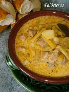 Hankka: Palócleves Croatian Recipes, Hungarian Recipes, Healthy Soup Recipes, Cooking Recipes, Veggie Soup, Winter Soups, Slow Cooker Soup, Soups And Stews, Food Porn