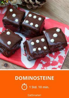 Dominosteine Eat Smarter, Holidays And Events, Desserts, Food, Dessert Ideas, Healthy, Tailgate Desserts, Deserts, Essen