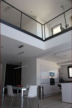 Les luminaires du vide sur s jour id es pour la maison pinterest photos - Maison avec vide sur salon ...