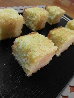 Sweet Corn Sugee Cake