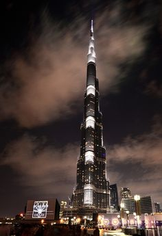 Burj Khalifa, Dubai, UAE.I want to go see this place one day.Please check out my website thanks. www.photopix.co.nz